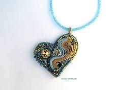 Jessicahandmade / Blue heart
