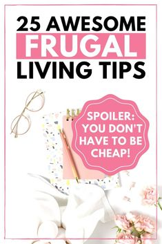 Frugal living tips to save money every day. These simple living tips will help save money, boost your budget and spend less money, all without being cheap. Live more frugally this year, and improve your finances. Managing Your Money, Save Your Money, Ways To Save Money, Saving Ideas, Money Saving Tips, Live Well For Less, Baby On A Budget, Frugal Living Tips, Budgeting Money