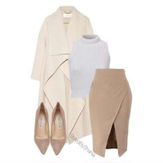 #ShareIG Coat: Chloe , Top: kookai, Skirt: Body Central , Shoes: Manolo Blahnik .