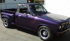 If there was any doubt that a Chevy LUV pickup would respond well to substantial modifications, this custom creation on craigslist will likely settle any scores once and for all. Hot Rod Trucks, Mini Trucks, Old Trucks, Chevelle Ss, Chevy Camaro, Rat Rod Girls, Chevy Luv, Chevy Pickups, Chevrolet Trucks