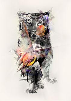 Tigers Eye by Birgit Palma