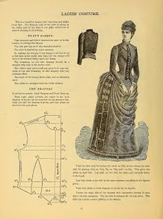 What We Did When The Power Went Out (Sewing In Walden): Ladies' Costume III 1888