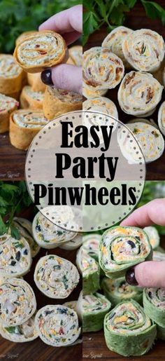 Pinwheels are the ultimate party appetizer. Easy and perfect for making ahead of time and always a huge hit for game day or parties. party snacks Party Pinwheels Appetizers Recipe- Butter Your Biscuit Apéritifs Pinwheel, Pinwheel Recipes, Easy Pinwheel Appetizers, Easy Party Snacks, Easy Make Ahead Appetizers, Easy Food For Party, Cold Party Food, Appetizers For A Crowd, Best Appetizers