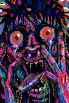 stoner art   trippy stoner art
