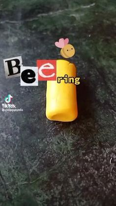 Ring Tutorial, Rubber Duck, Minecraft, Bee, Clay, Toys, Random, Rings, Projects