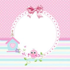 Etiket tasarımı Esmia Design'e aittir. #label #scrapbook #frame #vintage #shabby #cathkidstone #background #baby #babyshower #babygirl #clipart #cute:
