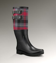 Womens Sabene By UGG Australia ... adorable wellies!