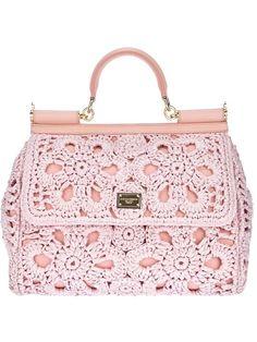 Dolce & Gabbana crocheted handbag