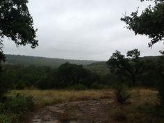 Rainy day at the ranch.
