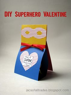 Jacs Of All Trades: Superhero Valentines