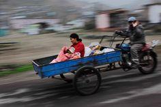 motorcyclin' in Lima, Peru