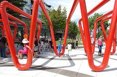 *거대한 빨대 공원 [ HAPA Collaborative ] Mid Main Park :: 5osA: [오사]