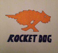 Day 20: Something Orange. My obsession for Rocket Dog shoes and those wonderful orange boxes! By Teena McDougall. 30 Day Drawing Challenge, Boxes, Orange, Dog, Drawings, Diy Dog, Crates, Box, Doggies