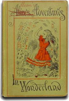 Alyssa's mother's book- Splintered by A.G. Howard Love the old artwork!