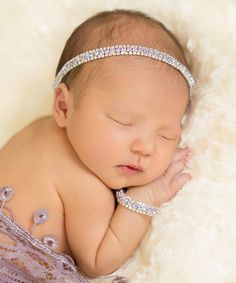 Look at this The Tiny Blessings Boutique Violet Rhinestone Headband & Bracelet Set on today! Tiny Blessings, Baby Wedding, Wedding Ideas, Rhinestone Headband, Bow Accessories, Kids Boutique, Baby Girl Headbands, Queen, My Baby Girl