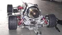 1:5 Large Scale FG with Jet Engine