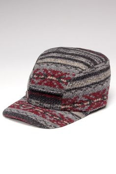 Crown Cap Navajo Pattern Earband  - Warm cap!