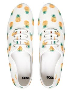 ASOS DIZZY Sneakers - cheap sneakers so you're not sad when it gets ruined by, you know, blood or vomit