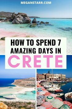 Greece Vacation, Greece Travel, Greece Trip, Crete Tourism, Crete Heraklion, Crete Rethymnon, Mykonos Greece, Athens Greece, Chania Greece