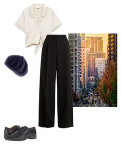 """""""Untitled #20"""" by samgumgee on Polyvore featuring RED Valentino, Frye and Black"""