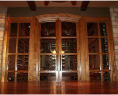 Custom Wine Cellar Doors | Custom Wine Room Doors | Vigilant custom-built wine cellar doors for home wine cellar design