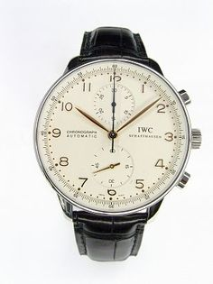 Amsterdam Watch Company - Horloges | Vintage | IWC | Portugeser staal | incl. B+P en service iwc