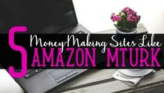 Are You Looking For Sites Like Amazon Mturk?