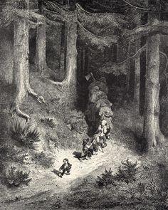 Poucet5 - Gustave Doré