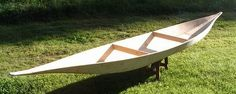 18' Canoe From Single Sheet Of Plywood