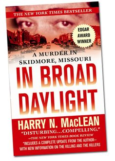Tells the story of the killing of a bully in a small town in northwest Missouri in 1981, in front of 45 witnesses. Explores Ken McElroy's reign of terror, his killing, and the cover-up which has protected the killers ever since. In Broad Daylight won an Edgar Award for Best True Crime, was a New York Times Bestseller for 12 weeks, and was made into a movie starring Brian Denehey.