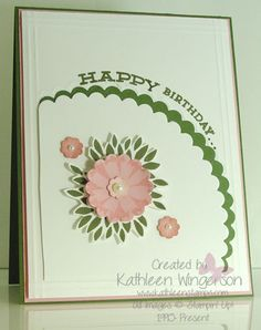 Petal Parade by tyque - Cards and Paper Crafts at Splitcoaststampers