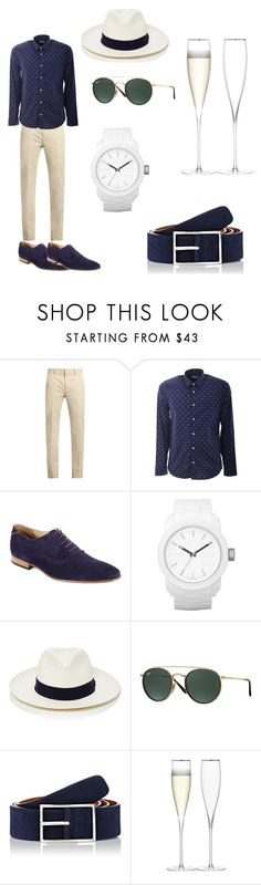 """""""Midnight in Paris"""" by ludomangiameli ❤ liked on Polyvore featuring Calvin Klein Collection, Kenzo, Paul Smith, Diesel, Frescobol Carioca, Ray-Ban, Simonnot Godard, LSA International, men's fashion and menswear"""