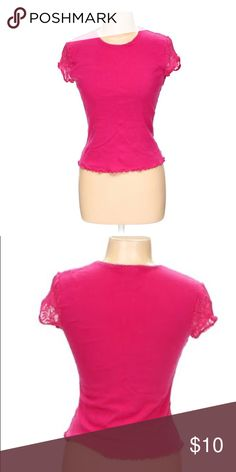 Pink Shirt By Express Size Large fits like medium Pink Shirt By Express Size Large fits like medium Express Tops Blouses
