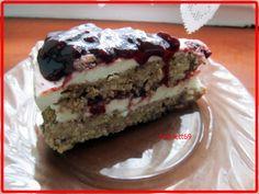 Áfonyás köles torta Tiramisu, Cheesecake, Low Carb, Gluten Free, Pie, Cookies, Health, Ethnic Recipes, Sweet