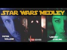 Lindsey Stirling & Peter Hollens - #StarWars Medley
