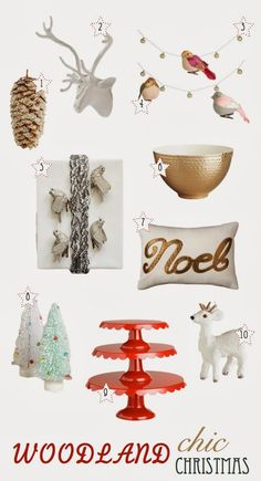 Woodland Chic Christmas Decor Round-up! - danielle oakey interiors
