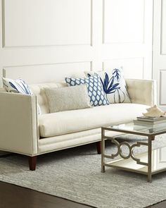 Harbor Sofa by Massoud at Horchow only $3,500! lol