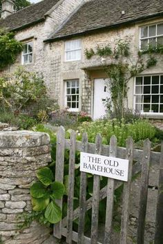 A Baker's Cottage ~ Could anything be more charming?  Pinned by MyFrenchCookbook.com