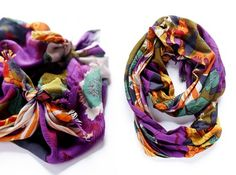 How To Turn A Regular Scarf Into An Infinity Scarf | Styleoholic