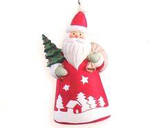2006 hallmark keepsake st nick santa claus n tree christmas ornament nib