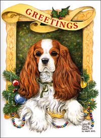 Cavalier King Charles Spaniel – Graceful and Affectionate Cavalier King Charles, Cavalier King Spaniel, King Charles Dog, King Charles Spaniel, Cocker Spaniel, Christmas Dog, Christmas Cards, Christmas Quotes, Loyal Dogs