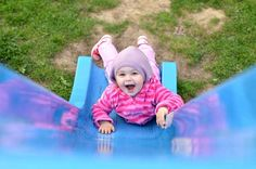 Slide into learning. Why slides and ladders are great for developing bodies and brains. GymbaROO/Active Babies Smart Kids