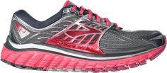 Brooks Women's Glycerin 14 Road-Running Shoes Anthracite/Azalea 9.5 Narrow