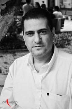 """""""Tranquilidad"""", así titula José Marenco Oyola a esta foto del periodista Anuar Saad Saad, actual director del programa de Comunicación Social-Periodismo de la Universidad Autónoma del Caribe, en Barranquilla."""