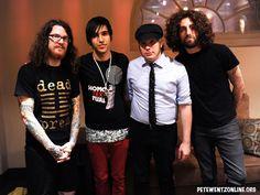 Fall Out Boy ~ FOB ~ Andy Hurley ~ Pete Wentz ~ Patrick Stump ~ Joe Trohman ~