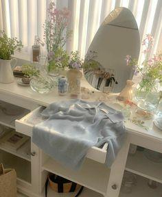 Room Ideas Bedroom, Bedroom Decor, Bedroom Inspo, Pastel Room, Pastel Decor, Cute Room Decor, Study Room Decor, Minimalist Room, Pretty Room
