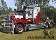 Kenworth Trucks, Mack Trucks, Big Rig Trucks, New Trucks, Custom Trucks, Cool Trucks, Train Truck, Road Train, Heavy Duty Trucks