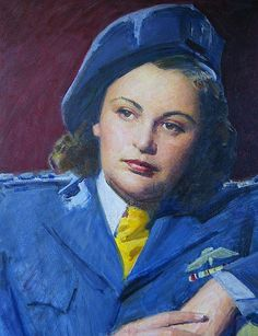A portrait of Nancy Wake, painted by Robert Hannaford. Nancy Wake, World War One, Australian Artists, Portrait Art, Portraits, Women In History, Lady, People, Photography