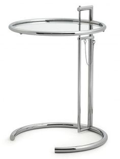 Mesa auxiliar Eileen Gray - Clásicos del diseño E 1027 firma ClassiCon- DecoEstilo.com
