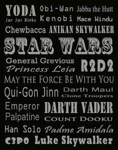 For my Star Wars son #printables
